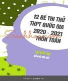 12 đề thi thử THPT Quốc gia 2021 môn Toán (Có đáp án)