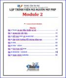 Giáo trình Lập trình viên mã nguồn mở PHP – Module 2