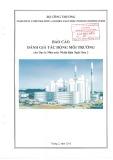 Báo cáo Đánh giá tác động môi trường của dự án Nhà máy Nhiệt điện Nghi Sơn 2
