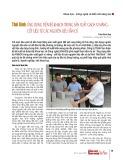 Thái Bình: Ứng dụng tiến bộ KH&CN trong sản xuất gạch xi măng -  cốt liệu từ các nguyên liệu sẵn có
