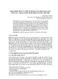 Hoạt động đi sứ và tiếp sứ trong quan hệ ngoại giao Việt Nam – Trung Quốc dưới triều Nguyễn (1802-1885)