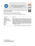 Phương pháp giải tích xác định hiệu quả truyền ứng suất trong khối đắp khi sử dụng phương pháp khối đắp trên nền đất yếu gia cố bằng cọc cứng