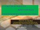 Bài giảng Lựa chọn thuốc hợp lý với bệnh lý tim mạch ở người bệnh đái tháo đường typ 2 - PGS.TS. Tạ Văn Bình