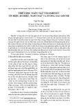 Triết học ngôn ngữ Voloshinov: Tín hiệu, ký hiệu, ngôn ngữ và tương tác lời nói