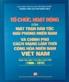 Lịch sử Mặt trận Dân tộc Giải phóng miền Nam Việt Nam: Phần 1