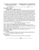 Đề thi học kì 1 môn Ngữ văn 11 năm 2020-2021 có đáp án - Trường THPT Nguyễn Huệ