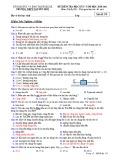 Đề thi học kì 1 môn Vật lí 10 năm 2020-2021 có đáp án - Trường THPT Nguyễn Huệ