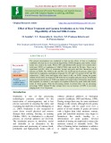 Effect of heat treatment and gamma irradiation on in vitro protein digestibility of selected millet grains