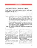 Chính sách kinh tế mới của V.I.Lênin và sự vận dụng trong công cuộc đổi mới ở Việt Nam hiện nay