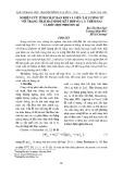 Nghiên cứu tính chất đan rối và viễn tải lượng tử với trạng thái hai mode kết hợp SU(1, 1) thêm hai và bớt một photon lẻ