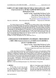 Nghiên cứu một số biện pháp kỹ thuật nhân giống ớt A Riêu (Capsicum frutescens L.) từ hạt tại huyện Đông Giang, tỉnh Quảng Nam