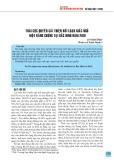 Thái cực quyền cải thiện rối loạn giấc ngủ một bằng chứng tại Bắc Ninh năm 2019
