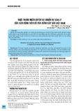 Thực trạng huấn luyện và chuẩn bị tâm lý của vận động viên Cờ vua đẳng cấp cao Việt Nam
