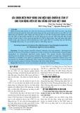 Lựa chọn biện pháp nâng cao hiệu quả chuẩn bị tâm lý cho vận động viên Cờ vua đẳng cấp cao Việt Nam
