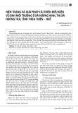 Hiện trạng và giải pháp cải thiện điều kiện vệ sinh môi trường ở xã Hương Vinh, thị xã Hương Trà, tỉnh Thừa Thiên - Huế