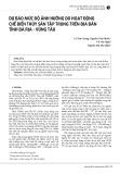 Dự báo mức độ ảnh hưởng do hoạt động chế biến thủy sản tập trung trên địa bàn tỉnh Bà Rịa - Vũng Tàu