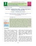 Small millets - food for the poor or elite? - An online market study in coimbatore city of Tamil Nadu, India