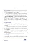 Nhân tố tác động đến cơ cấu nguồn vốn của các doanh nghiệp xi măng niêm yết ở Việt Nam