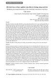 Mô hình hóa và thực nghiệm máy điện từ kháng công suất lớn