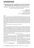 Ứng dụng mô hình EFA trong phân tích các nhân tố ảnh hưởng đến quyết định chọn trường Đại học Sao Đỏ của sinh viên