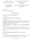 Đề thi chọn HSG cấp trường môn Toán 12 năm 2020-2021 - Trường THPT chuyên Trần Phú
