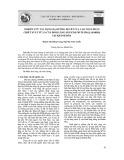 Nghiên cứu tác dụng hạ đường huyết của cao toàn phần chiết xuất từ lá cây đinh lăng (Polycias fruticosa (L.) Harms) tại Khánh Hòa