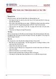 Bài giảng Kiểm toán tài chính - Bài 4: Kiểm toán chu trình bán hàng và thu tiền