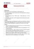 Bài giảng Nguyên lý kế toán - Bài 1: Tổng quan về kế toán