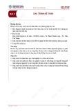 Bài giảng Nguyên lý kế toán - Bài 2: Chu trình kế toán