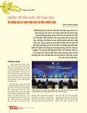Hướng tới tầm nhìn Việt Nam 2045: Ba động lực và năm lĩnh vực ưu tiên chiến lược