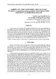 Nghiên cứu tinh sạch sơ bộ C-phycocyanin từ rong Ceratophyllum demersum bằng than hoạt tính, chitosan và Ammonium Sulfate