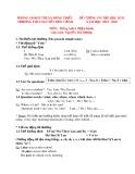 Đề cương ôn tập HK2 môn Tiếng Anh 6 năm 2019-2020 - Trường THCS Nguyễn Đức Cảnh (Chương trình hiện hành)
