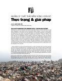 Quản lý chất thải rắn vùng ven đô thực trạng và giải pháp