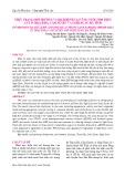 Thực trạng môi trường và dịch bệnh tại vùng nuôi tôm trên cát ở Thạch Hà, Cẩm Xuyên và Nghi Xuân, Hà Tĩnh