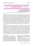 Tối ưu hóa điều kiện chiết với sự hỗ trợ siêu âm để thu nhận Polyphenol có hoạt tính chống oxy hóa từ loài rong đỏ Gracilaria salicornia