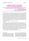 Ảnh hưởng của độ mặn và thức ăn đến sinh trưởng, tỷ lệ sống của ấu trùng ốc đĩa (Nerita balteata reeve, 1855) giai đoạn trôi nổi