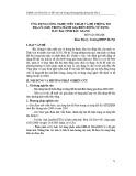 Ứng dụng công nghệ viễn thám và hệ thông tin địa lý (gis) trong đánh giá biến động sử dụng đất đai tỉnh Bắc Giang