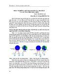 Trục nghiêng, quỹ đạo ellip của trái đất và các số 8 trên bầu trời