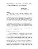 Thuyết lục địa trôi của A.Wegener vĩ đại và thuyết kiến tạo mảng hiện đại