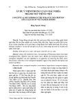 Ẩn dụ ý niệm trong luận giải nghĩa thành ngữ tiếng Việt
