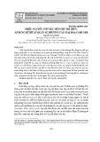 Triều Nguyễn với việc tiếp thu tri thức, áp dụng kĩ thuật quân sự phương Tây giai đoạn 1802-1858