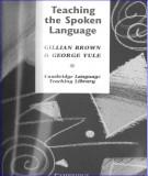Conversational English - Teaching the spoken language