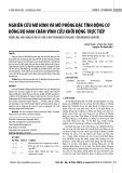 Nghiên cứu mô hình và mô phỏng đặc tính động cơ đồng bộ nam châm vĩnh cửu khởi động trực tiếp