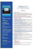 Tạp chí Tài nguyên và môi trường – Số 23 (277)