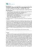 Giới thiệu bộ công cụ mô hình Wflow trong mô phỏng dòng chảy các lưu vực sông Việt Nam: Mô hình Wflow_sbm