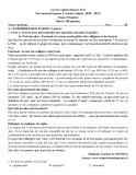 Đề thi năng khiếu môn Tiếng Pháp 11 năm 2020-2021 - Trường THPT chuyên Nguyễn Trãi (Lần 2)