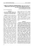 Nghiên cứu tổ hợp chất chỉ điểm sinh học: vWF VCAM-1, MCP-1, D-Dimer trong chẩn đoán và tiên lượng nhồi máu não cấp