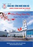 Tạp chí Khoa học công nghệ Hàng hải: Số 65-01/2021
