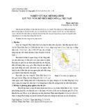 Nghiên cứu đặc điểm địa hình lưu vực vùng hồ thủy điện Sơn La, Việt Nam