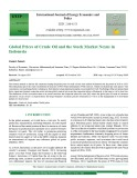 Global prices of crude oil and the stock market nexus in Indonesia